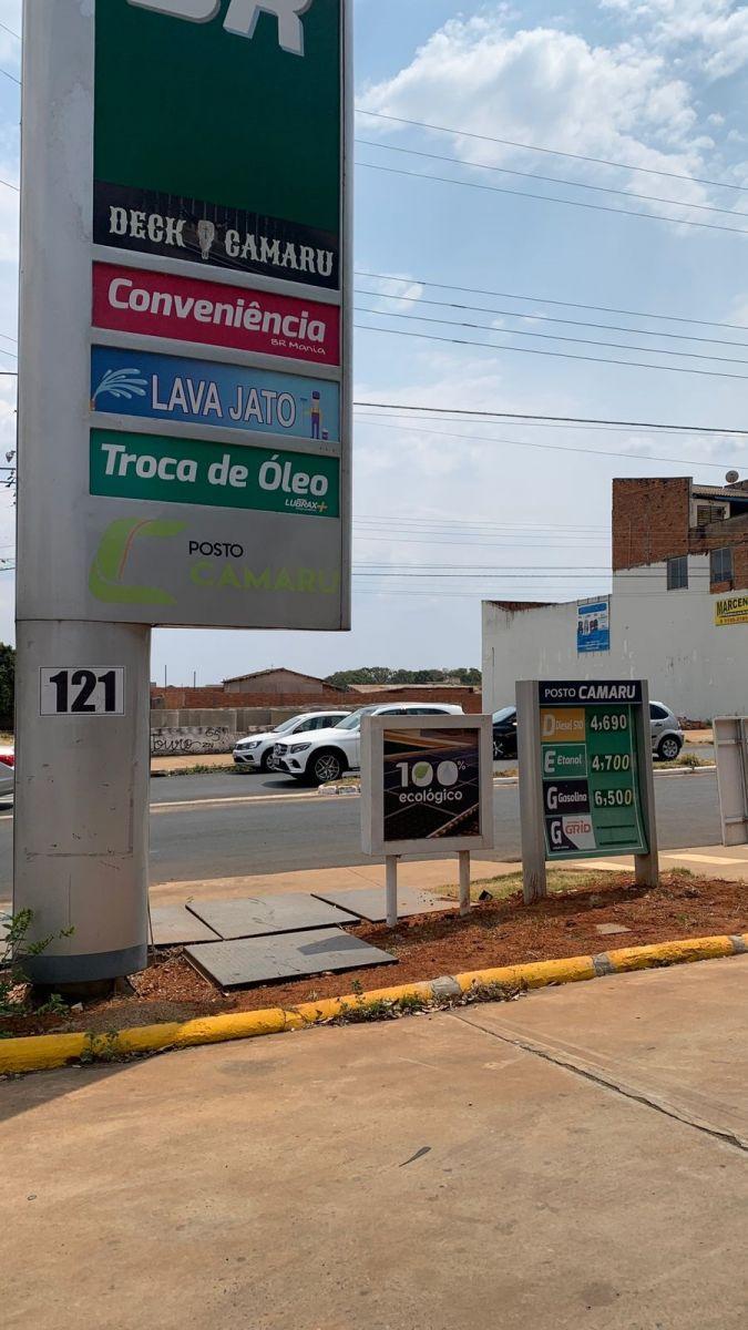 Em um dos postos, a gasolina saiu de R$6,19 para R$6,50. O álcool saiu de R$4,39 para R$4,70   Foto: Dhiego Borges