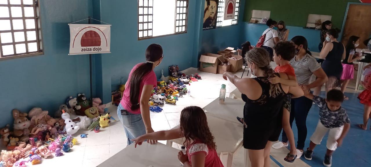 A Associação Zeiza Dojo atende mais de 800 famílias | ASSOCIAÇÃO ZEIZA DOJO/DIVULGAÇÃO