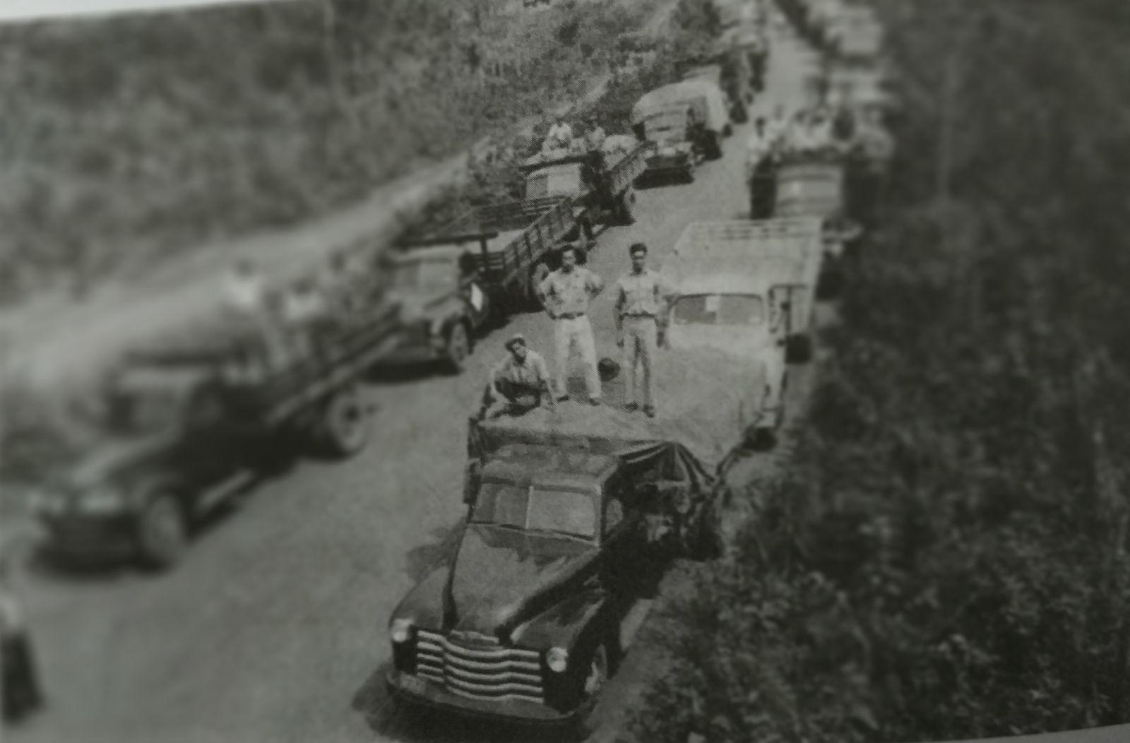Estrada inicial tinha 92km e ia de Uberabinha a Monte Alegre | Foto: Divulgação