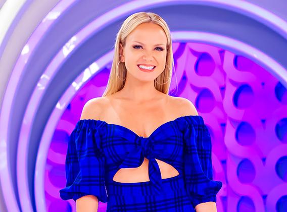 A apresentadora Eliana - Foto: Divulgação.