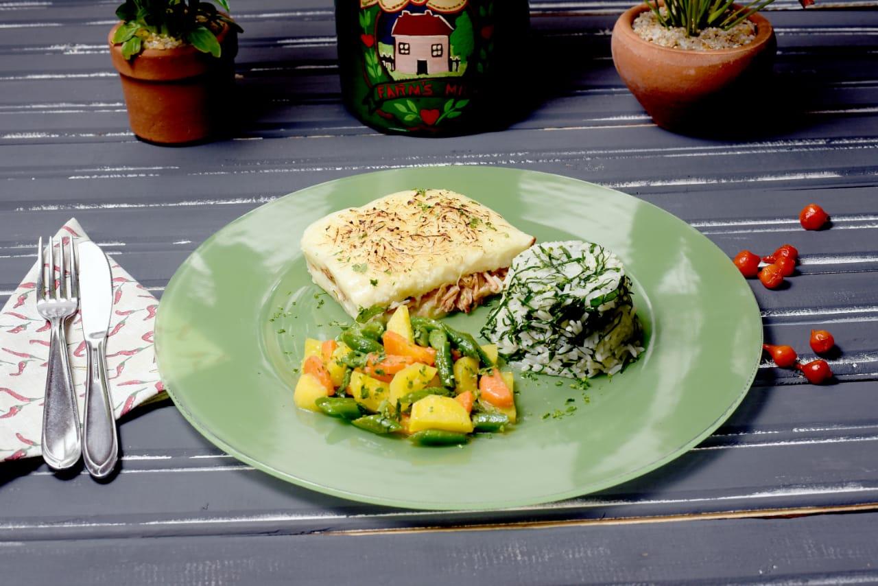 Escondidinho de Mandioca à Mineira é oferecido pelo restaurante Terra Brasilis I Foto: Divulgação