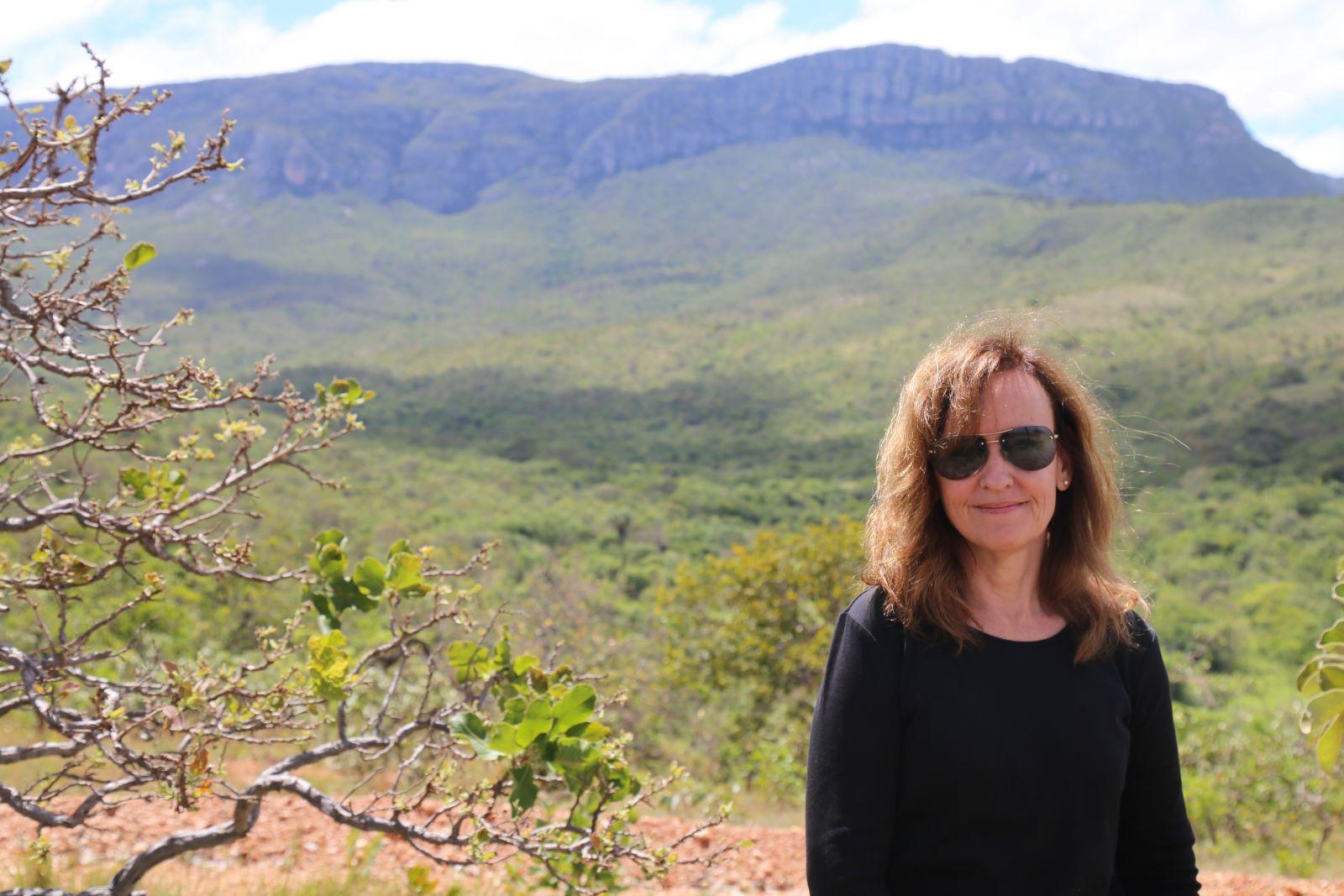 Bióloga Rosana Romero, do Instituto de Biologia da UFU, foi uma das responsáveis pela descoberta | Foto: Divulgação