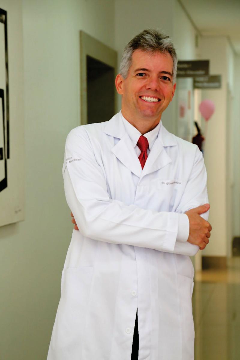 Dr. Giovany Pereira destaque na página de hoje | Foto: Divulgação