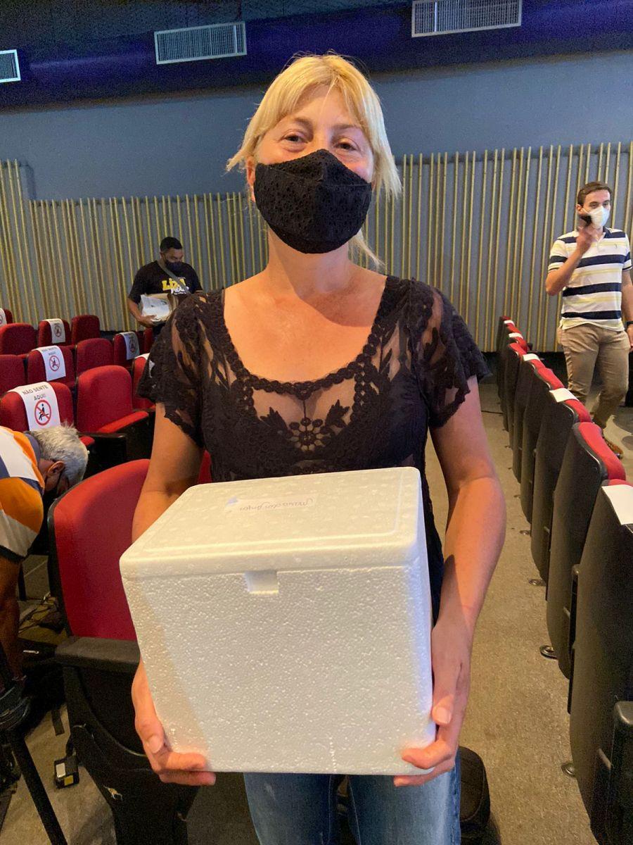 Doses foram distribuídas para 45 protetores e instituições da cidade   GABRIELE LEÃO/DIVULGAÇÃO